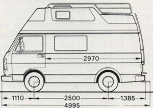 394f5f799b 1993 VW Westfalia LT Florida Camper